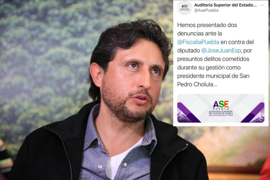 ASE denuncia a Jose Juan Espinosa por fraude, operaciones simuladas y peculado; desvió 100.6 mdp