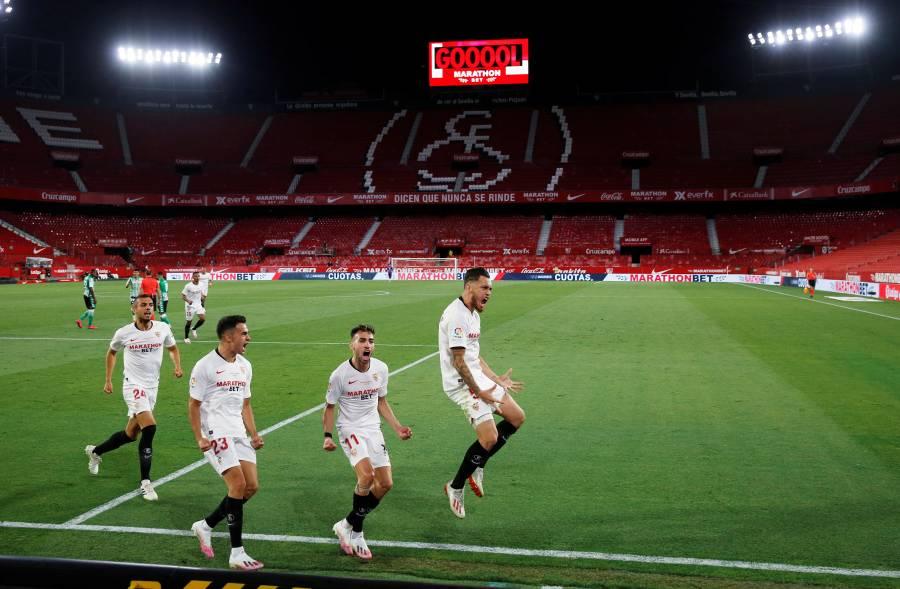 Sevilla neutraliza a Lainez; Betis cae en la vuelta de La Liga