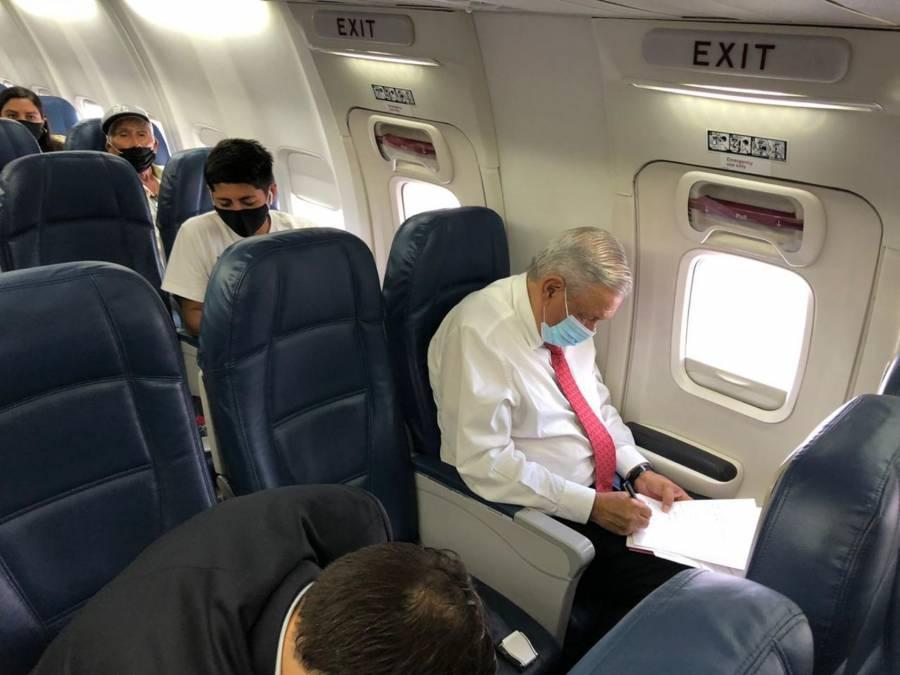 AMLO viaja a reunión de primer nivel con Trump