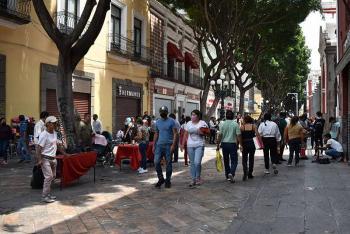 Solapan ambulantaje y cobro de piso: Barbosa