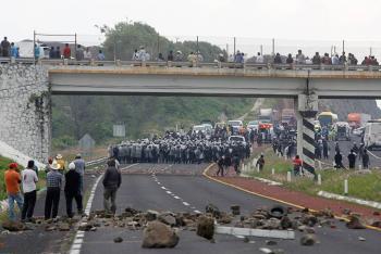 Las secuelas del enfrentamiento en Chalchihuapan