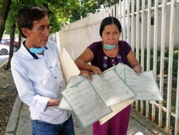 """""""Montaje"""" de Fiscalía de Chiapas, el rescate de 23 niños"""