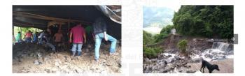 Apela Congreso del Estado a solidaridad, a favor de las familias de San Felipe Tepatlán afectadas por lluvias