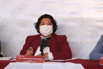Denuncia Karina Pérez daño patrimonial en gestión de Huepa