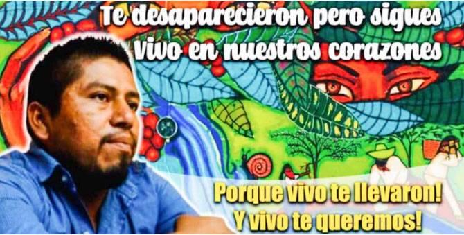 Condenan liberación de implicados en muerte de activista Sergio Rivera