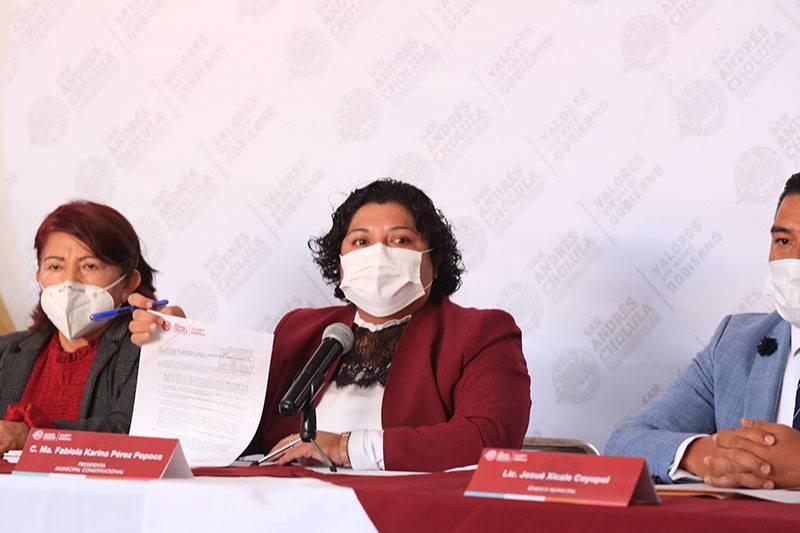 Demandas de Huepa no van a proceder: Pérez Popoca