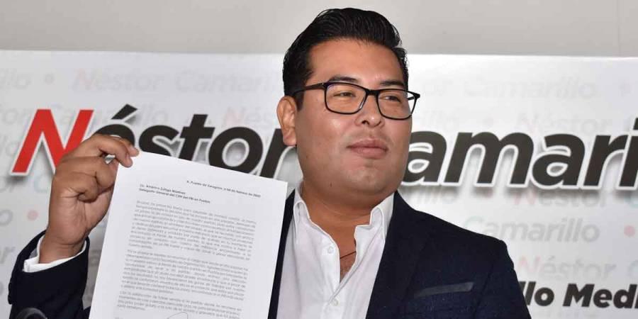 Condena PRI falsificación en entrega de despensas de Rivera Vivanco