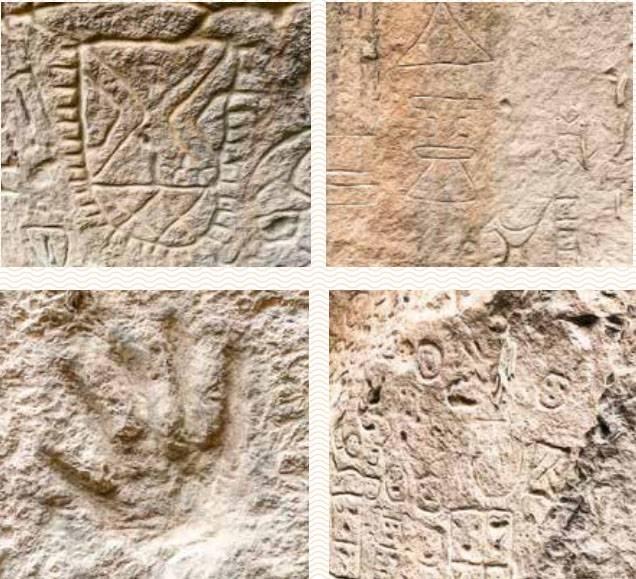 Encuentran pictografías de Carreragco en Tetela de Ocampo