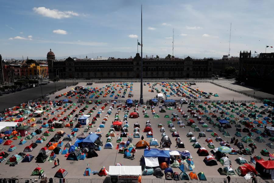 """López Obrador recomienda a oposición """"no comer ansias"""""""