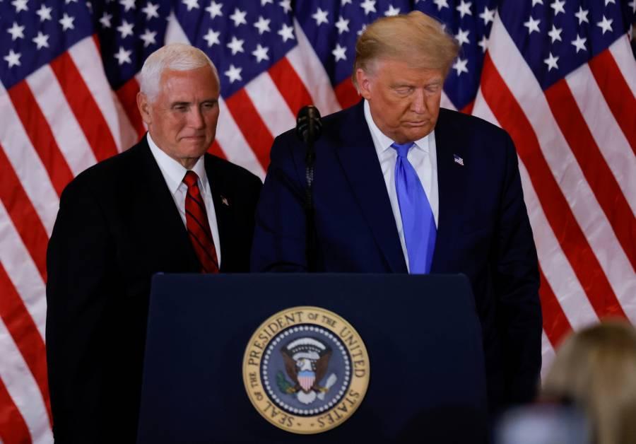 Congresistas y medios piden  al unísono la destitución de Trump