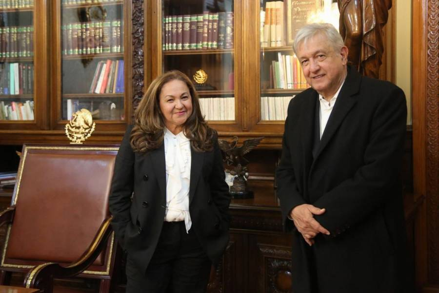INE es intolerante y censura, se queja el presidente López Obrador