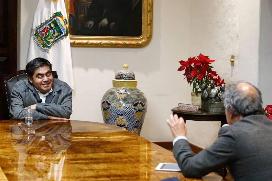 Sí Grillaron Contra mí al Presidente: Gobernador Barbosa