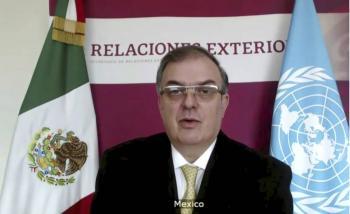 México denuncia acaparamiento  de vacunas ante la ONU
