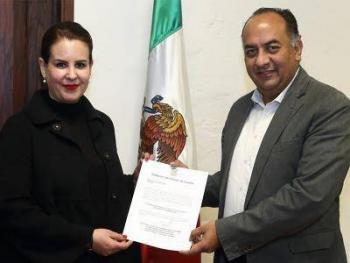 Ana Lucía Hill releva a David Méndez como titular de Segob