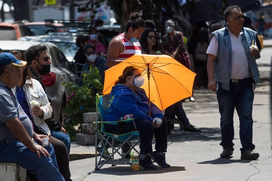 Contagios de Covid-19 bajan  en México, celebra la OPS