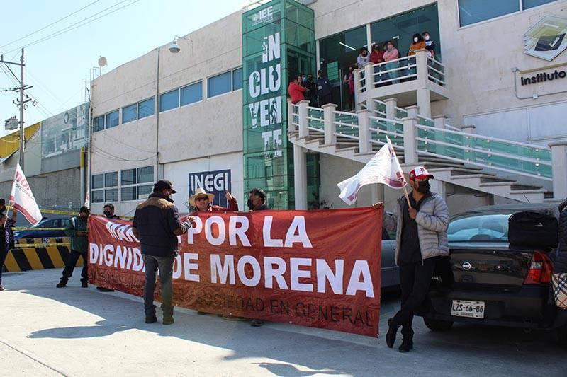 Revuelta en Morena Puebla; consejeros quieren impedir imposición de candidatos