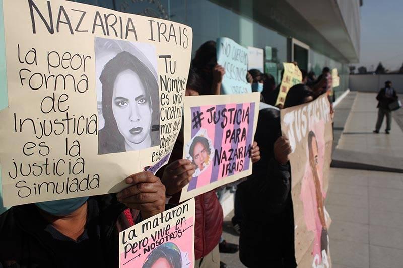 Un feminicidio, tres años y el rito de justicia para Nazaria