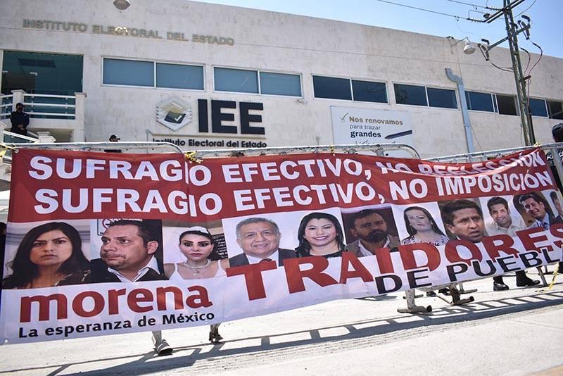Exhorta Barbosa a Morena resolver conflictos internos con diálogo