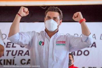 Toma ventaja Christian Castro a Sansores en Campeche