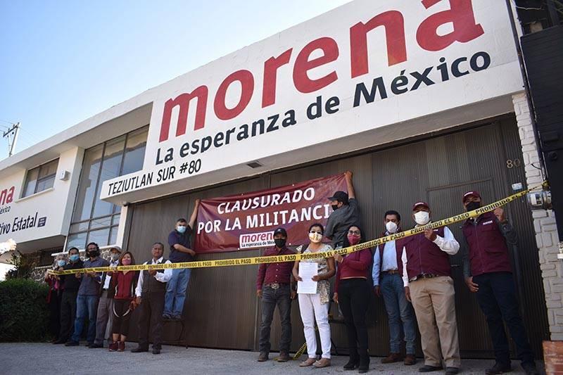 Morena oficializa lista de 16 candidatos a diputaciones locales
