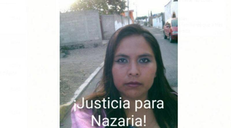Exigen al Senado justicia por el feminicidio de Nazaria Irais