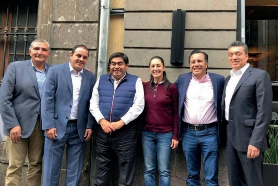 Gobernadores de Morena condenan a magistrados