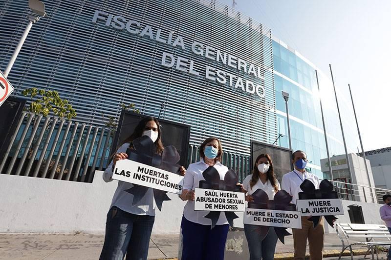 Va por México exige no archivar denuncias contra Huerta