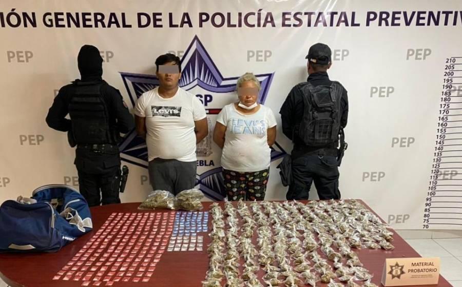 SSP asesta golpe a organización criminal de La Patrona y El Grillo