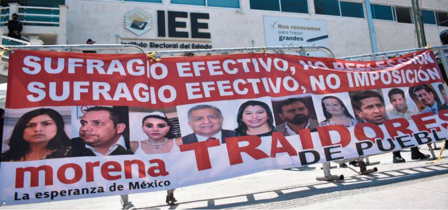Morena, sin seis candidatos a diputados locales
