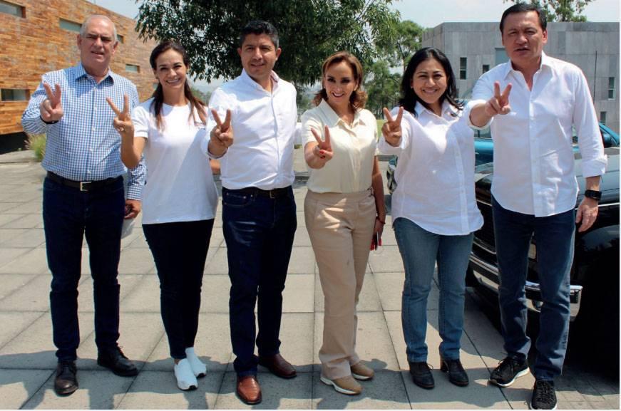 Senadores del PRI y PAN dan espaldarazo a Eduardo Rivera