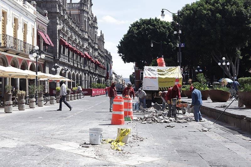 Cierre de calles en CH, decisión del Ayuntamiento