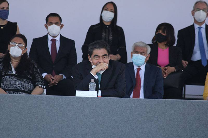 Corrupción, inseguridad y pobreza, retos a combatir en Puebla: Miguel Barbosa