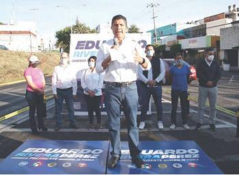 Lalo Rivera promete colaboración en seguridad, con autonomía