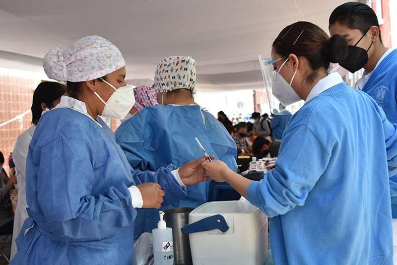 Iniciará vacunación de población de 50-59 años en Puebla capital