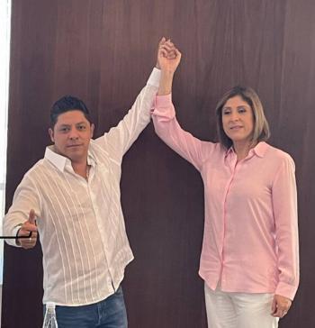 Mónica Rangel reconoce el triunfo electoral de Ricardo Gallardo