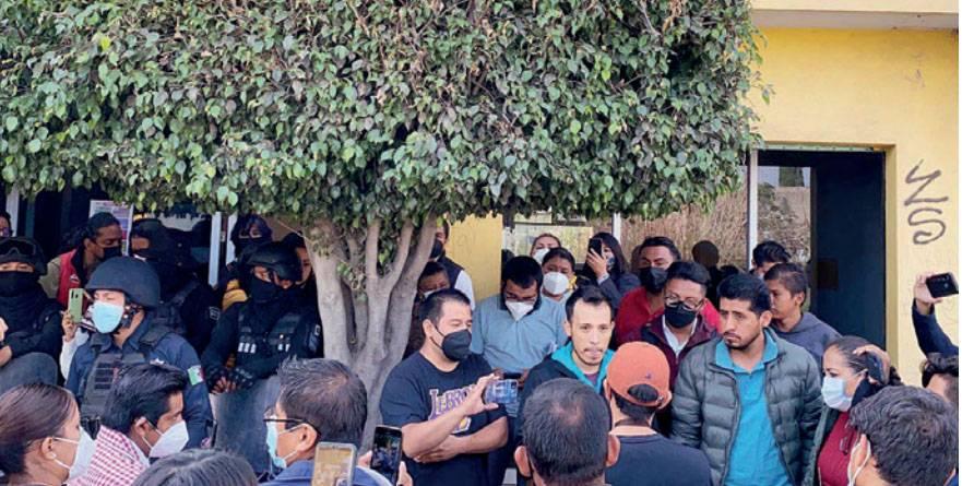 Suspenden cómputo en consejo distrital 20 por presencia de Antorcha Campesina