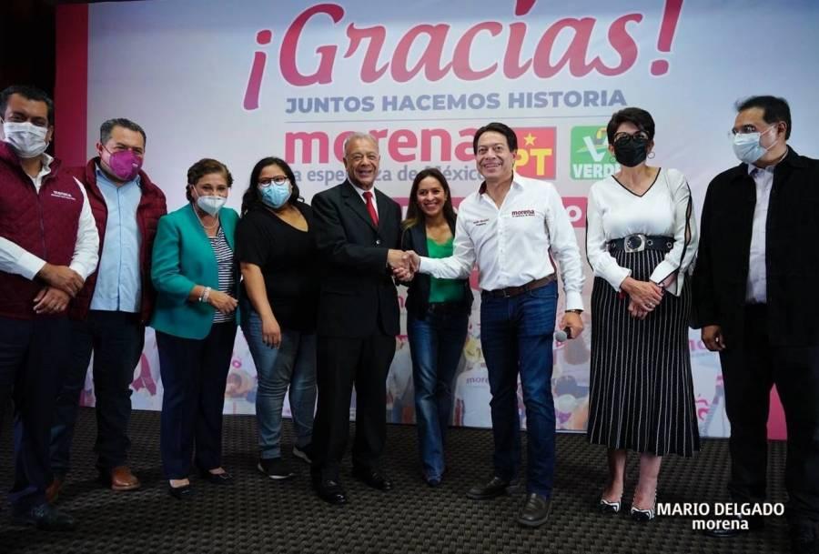 Morena reconoce el triunfo de Ricardo Gallardo y pide se respete
