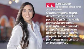 El mensaje ciudadano de Aurora que aplastó al oscurantismo morenista en Cholula