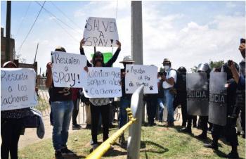 Preocupación, activismo, cumbia y tianguis entorno a falla geológica