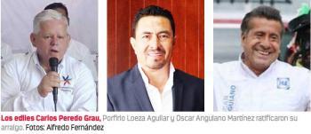 En Teziutlán, Tlatlauquitepec y Tlalancaleca, alcaldes se aferran al poder por cuarta ocasión