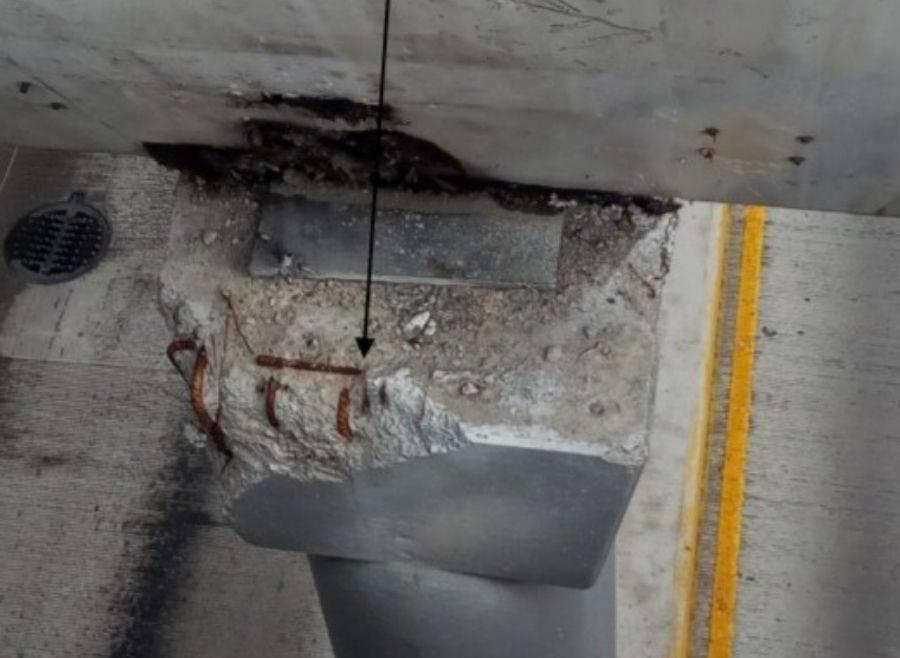 Viaducto Juárez Serdán, con defecto estructural; será intervenido por el gobierno