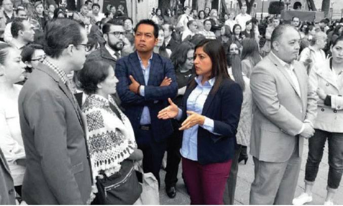 Silencio de alcaldesa, avala complicidad con García Viveros: PAN