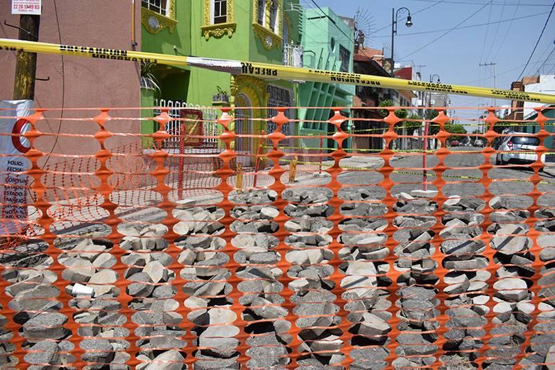 Comuna suma otro fracaso: suspenden obras en calles del CH
