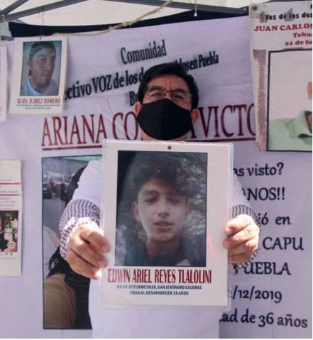 Armonizaraacuten ley de desaparecidos en la nueva legislatura Barbosa