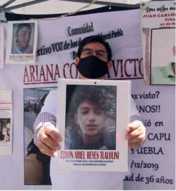 Armonizarán ley de desaparecidos en la nueva legislatura: Barbosa