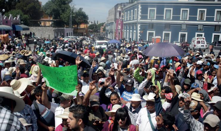 Demora Comuna en atender conflicto ejidal y lo hace mal