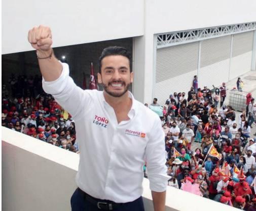 Confirma Toño López denuncia ante Fepade contra dirigentes de Morena
