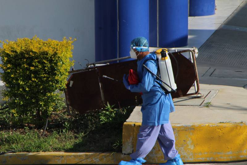 Rebasa puebla picos más altos de contagios y hospitalizaciones