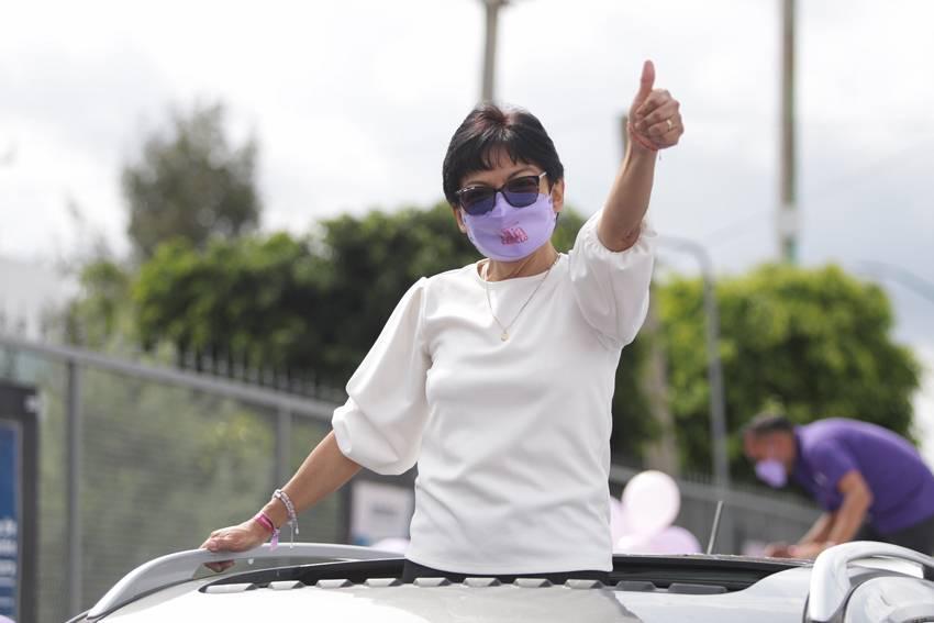 Arrasa Lilia Cedillo en jornada electoral; se perfila como la primera rectora