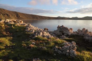 Permanece vigilancia para evitar obras en Laguna de Alchichica